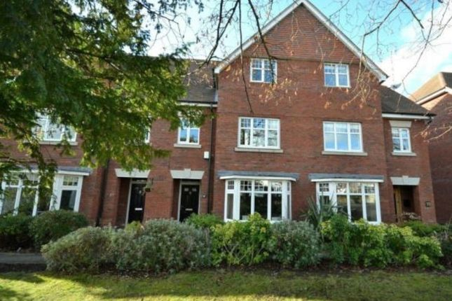Thumbnail Town house to rent in Ridgway Road, Stoneygate, Leicester
