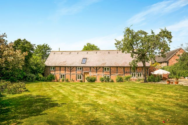 Thumbnail Barn conversion for sale in Clotton, Tarporley