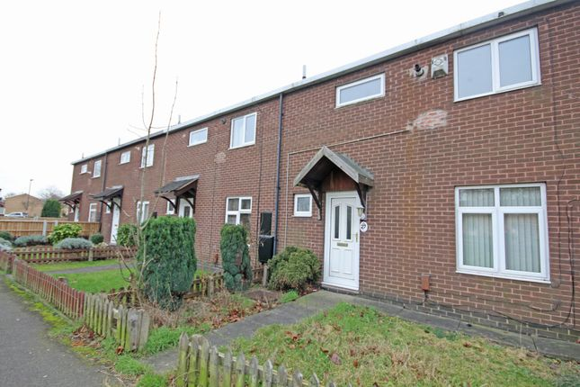 Thumbnail End terrace house to rent in Arkle Green, Sinfin, Derby