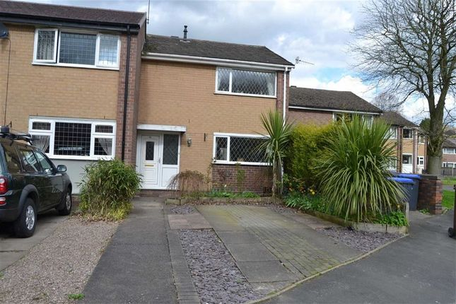 Thumbnail End terrace house for sale in Hencroft, Leek