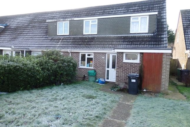 Thumbnail End terrace house to rent in Browning Close, Thatcham