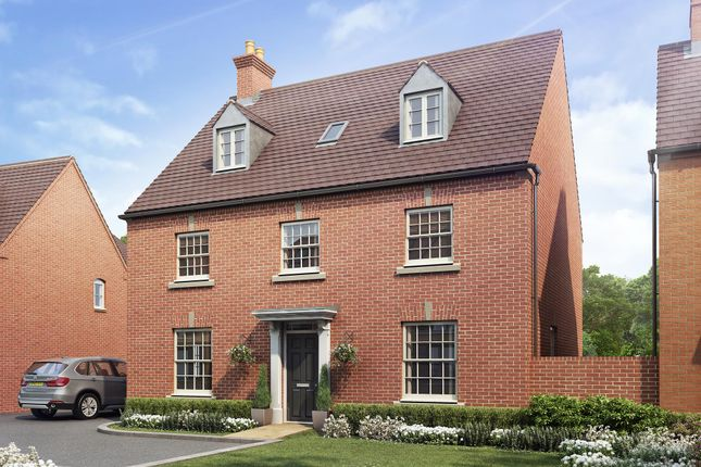 "Thumbnail Detached house for sale in ""Buckingham"" at Halse Road, Brackley"