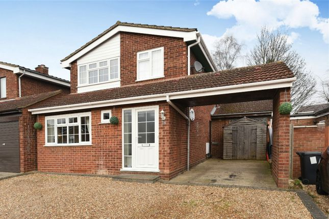 Thumbnail Detached house for sale in Willoughby Close, Great Barford, Bedford