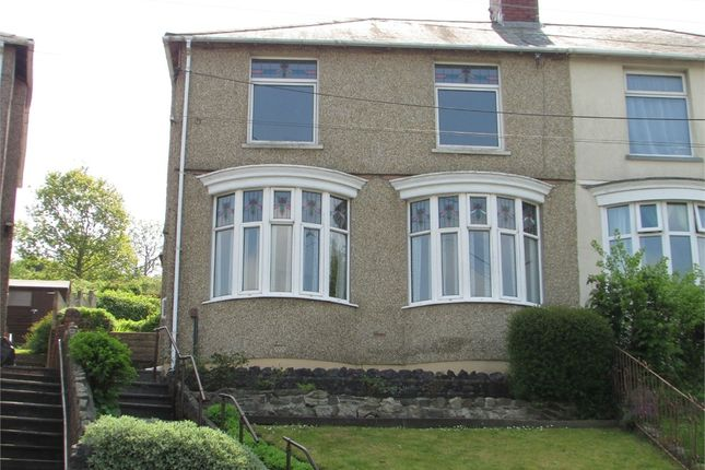 Thumbnail Semi-detached house for sale in Danygraig Road, Melyn, Neath, West Glamorgan