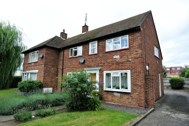 Thumbnail Flat for sale in Clare Road, Stanwell, Staines