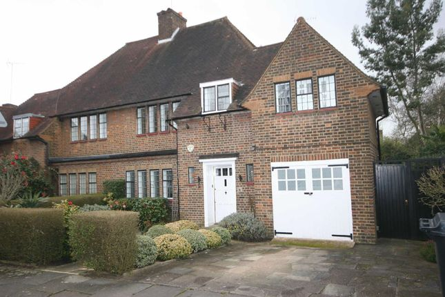 Thumbnail Semi-detached house to rent in Litchfield Way, London