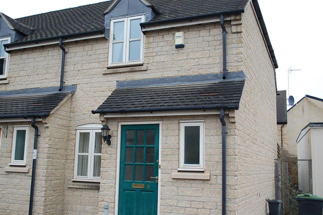 Thumbnail Semi-detached house to rent in Glovers Walk, Witney