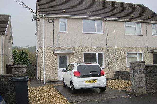 Thumbnail Semi-detached house to rent in Heol Y Coedcae, Cwmllynfell, Swansea.