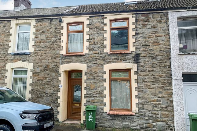 Thumbnail Terraced house for sale in Morris Avenue, Penrhiwceiber, Mountain Ash