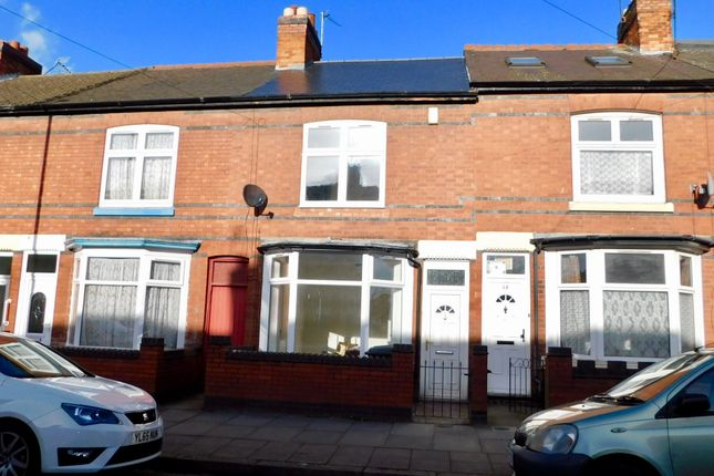 Thumbnail Terraced house to rent in Doncaster Road, Leicester
