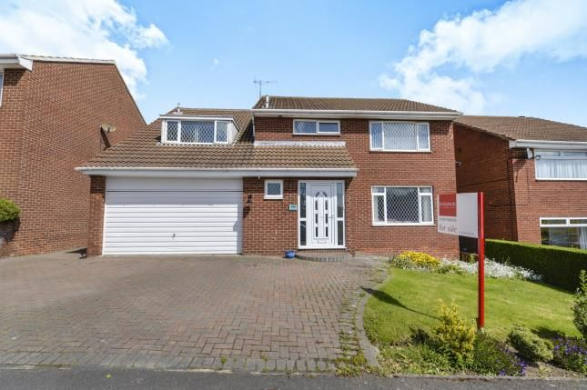 Thumbnail Detached house for sale in Shackleton Close, Whitby, North Yorkshire