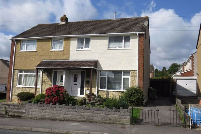 Thumbnail Semi-detached house for sale in Queens Drive, Llantwit Fardre, Pontypridd