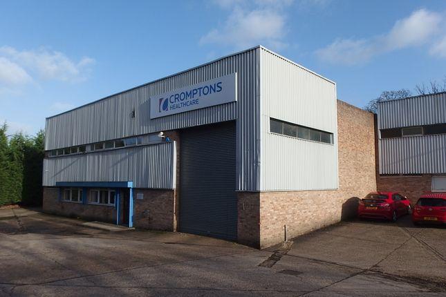 Thumbnail Warehouse for sale in Crockford Lane, Basingstoke