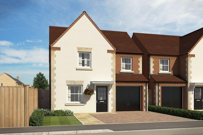 "Thumbnail Detached house for sale in ""Abbeydale"" at Popes Piece, Burford Road, Witney"