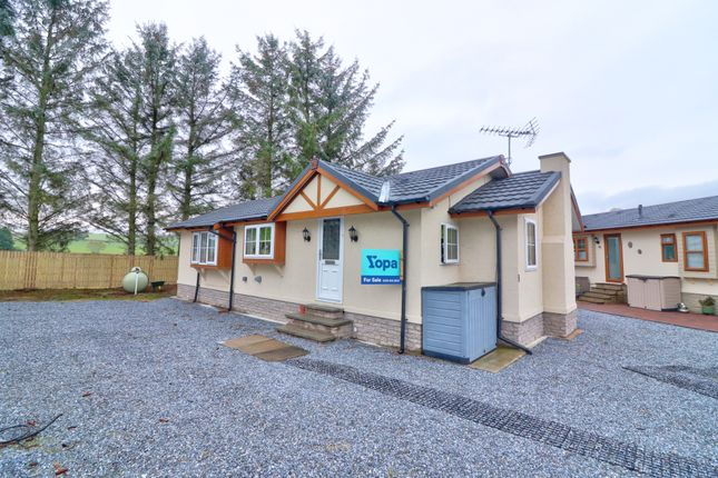 Thumbnail Mobile/park home for sale in Meadowside Of Craigmyle Caravan Park, Kemnay, Inverurie