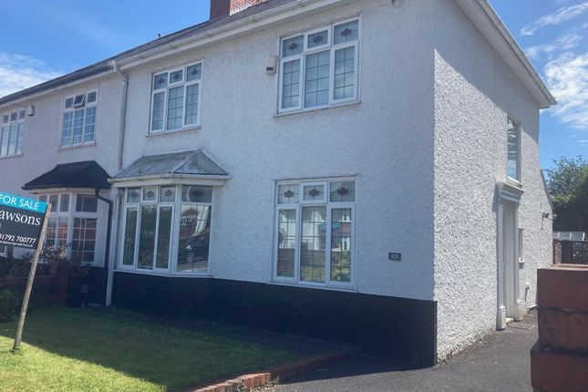 Thumbnail Semi-detached house for sale in Pentrepoeth Road, Morriston, Swansea