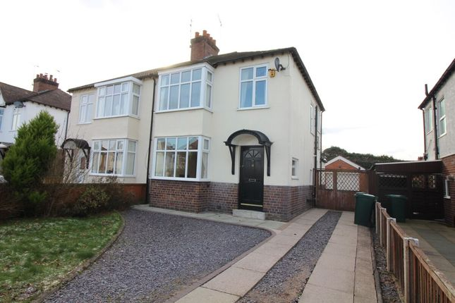 Thumbnail Semi-detached house to rent in Canadian Avenue, Hoole, Chester