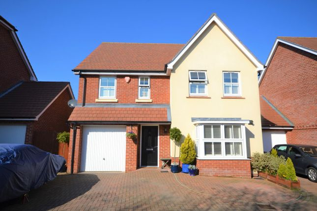 Thumbnail Detached house for sale in Hawksley Crescent, Hailsham