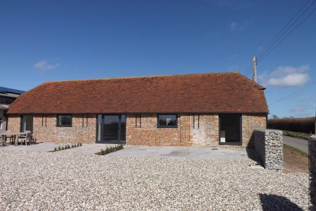 Thumbnail Barn conversion to rent in Chalvington, Hailsham