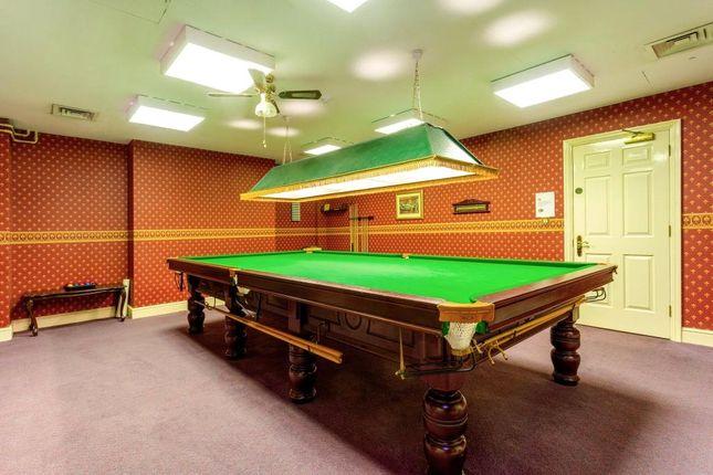 Snooker Room of The Empire, Grand Parade, Bath, Somerset BA2