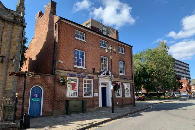 Front of Silver Street, Tamworth, Staffordshire B79