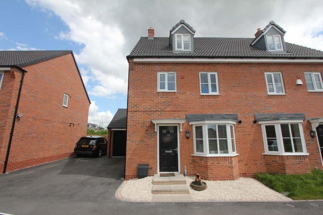4 bed semi-detached house for sale in The Green, Church Street, Burbage, Hinckley