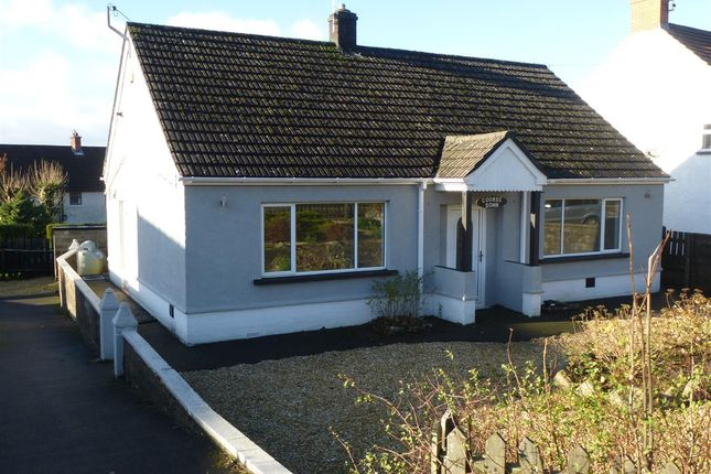 Thumbnail Detached bungalow to rent in Devauden, Chepstow