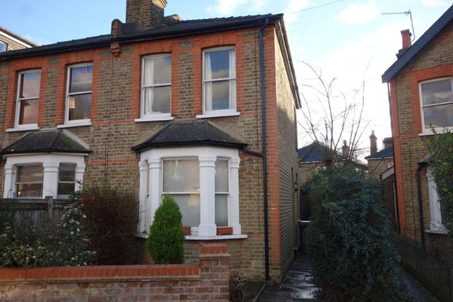 Thumbnail Semi-detached house to rent in Rowlls Road, Norbiton, Kingston Upon Thames
