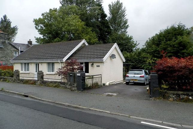 Thumbnail Detached bungalow for sale in Ystrad Aeron, Felinfach, Lampeter