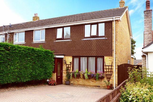 Thumbnail End terrace house for sale in Douglas Close, Upton, Poole