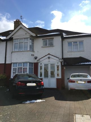 Thumbnail End terrace house to rent in Great South-West Road, Hounslow