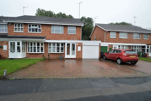 Thumbnail Semi-detached house for sale in Atcham Close, Winyates East, Redditch
