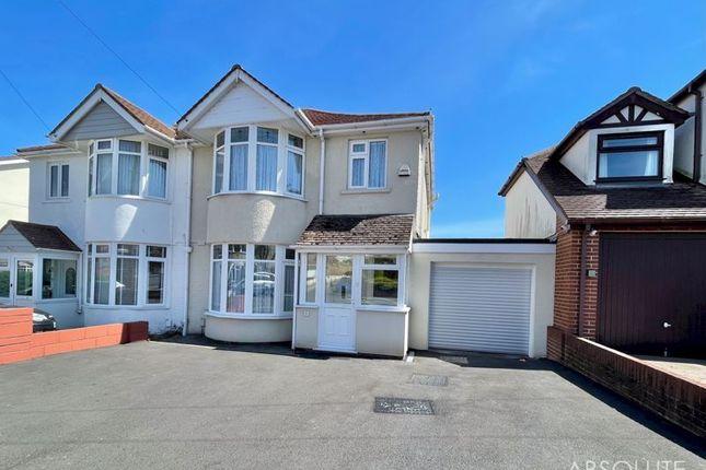 Thumbnail Semi-detached house for sale in Hilton Drive, Preston, Paignton