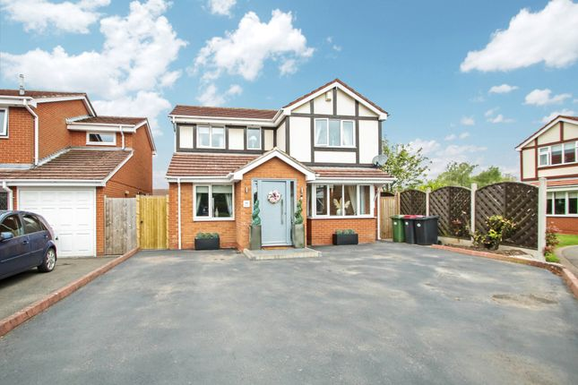 Thumbnail Detached house for sale in The Willows, Atherstone