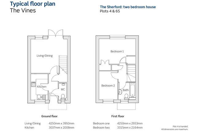 Floorplan of The Vines, Henry Avent Gardens, Plymouth Devon PL9