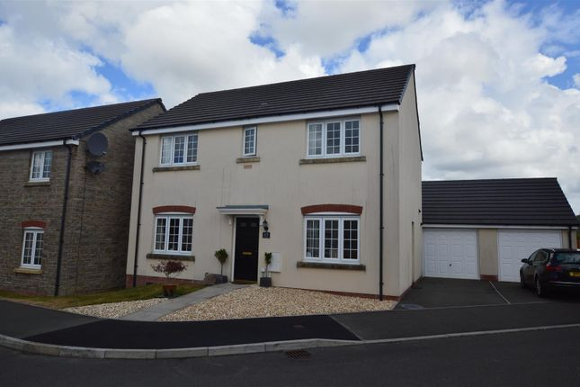 Thumbnail Detached house for sale in Lantern Close, Llanharan, Pontyclun