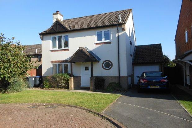Thumbnail Detached house to rent in Ramleaze Drive, Salisbury