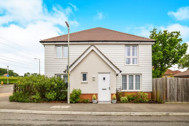 Thumbnail Semi-detached house for sale in Farmers Way, Kingsnorth, Ashford