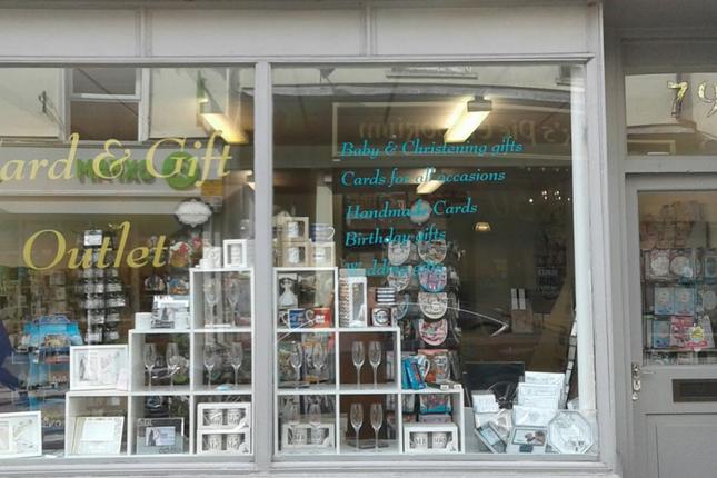 Retail premises for sale in Boutport Street, Barnstaple