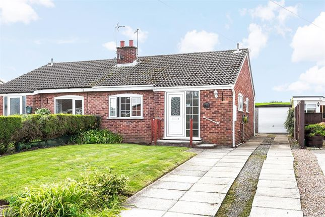 Thumbnail Bungalow for sale in Moorfield Way, Wilberfoss, York