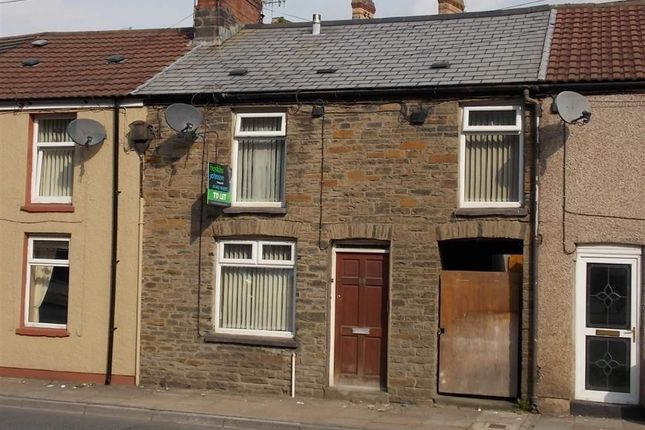 Thumbnail Terraced house to rent in Hopkinstown Road, Pontypridd