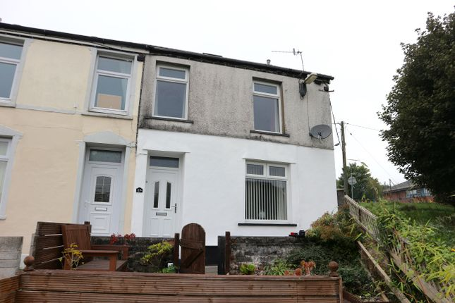 Thumbnail End terrace house for sale in Gellifaelog Terrace, Merthyr Tydfil