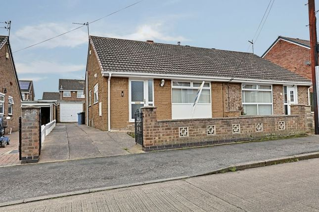 Thumbnail Semi-detached bungalow for sale in Grenville Bay, Bilton, Hull