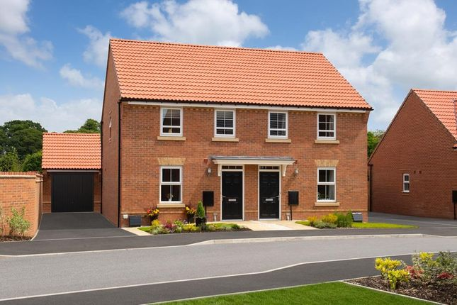 "Thumbnail Semi-detached house for sale in ""Washford"" at Bridlington Road, Stamford Bridge, York"