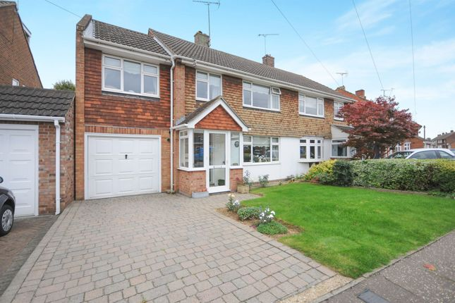 Thumbnail Semi-detached house for sale in Ravensbourne Drive, Chelmsford