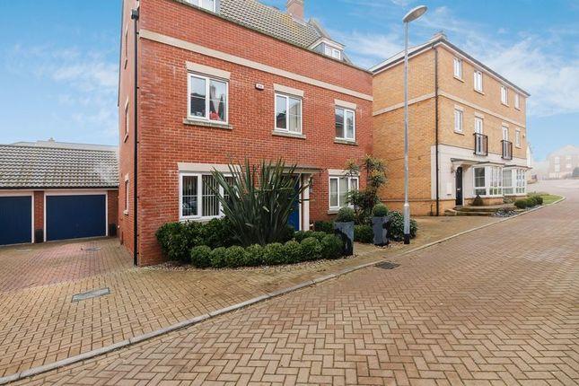 Thumbnail Detached house for sale in College Lane, Laindon, Basildon