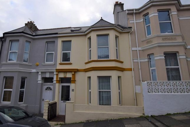 Thumbnail End terrace house to rent in Rosebery Avenue, Plymouth, Devon