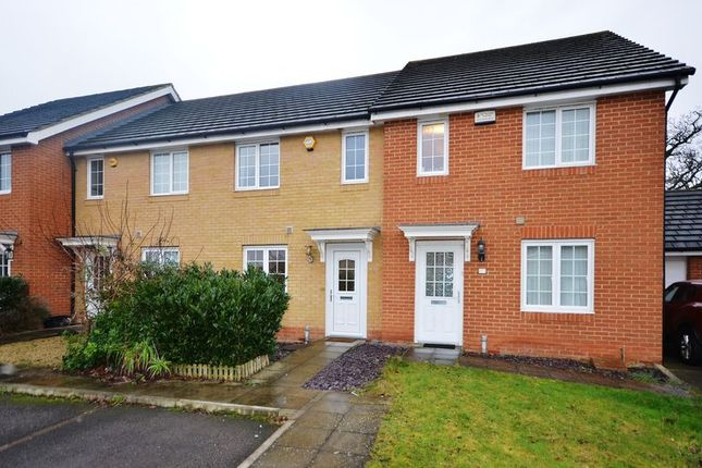 Thumbnail Terraced house to rent in Jersey Drive, Winnersh, Wokingham