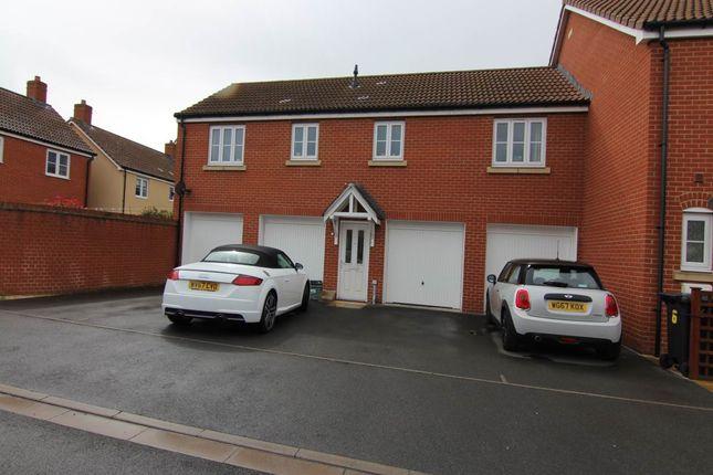 Thumbnail Flat to rent in De Salis Park, Westt Wick, Weston-Super-Mare