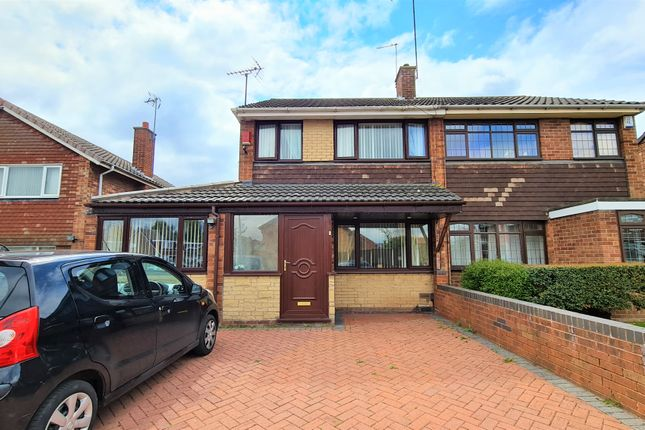 Thumbnail Semi-detached house for sale in Park View Crescent, Walsall